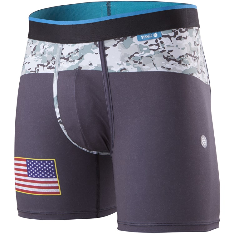 Stance Military Flag Wholester Boxers - Black