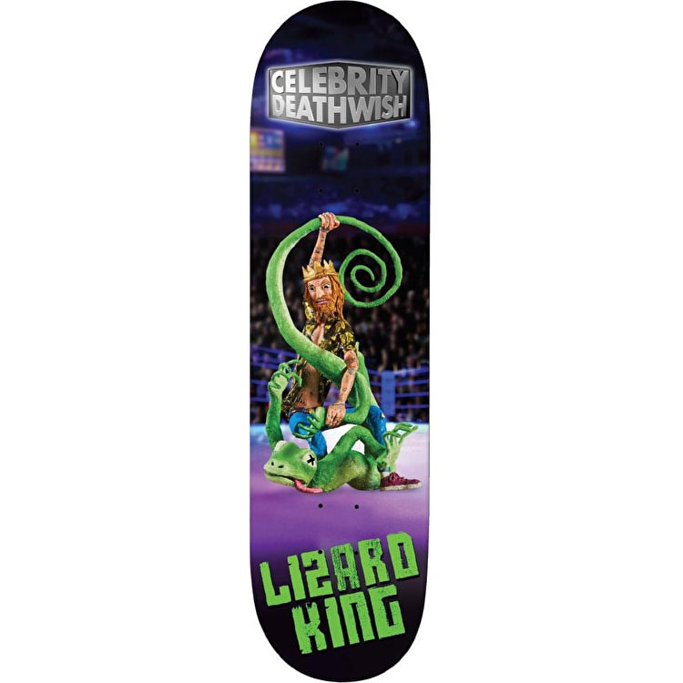 Deathwish Celebrity Deathwish - Lizard King Skateboard Deck 8""