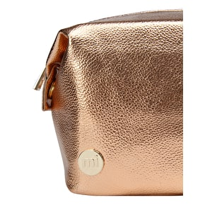 Mi-Pac Metallic Wash Bag - Rose Gold