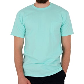 Diamond Supplier Pocket T-Shirt - Diamond Blue