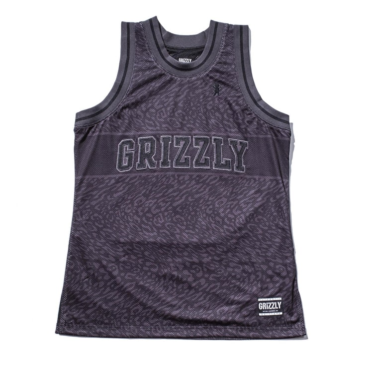 Grizzly Trippy Trail Jersey - Black