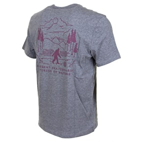 Element Mongo T-Shirt - Grey Heather