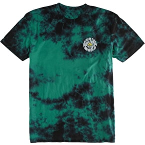 Emerica Harsh Toke Wash T-Shirt - Green/Black
