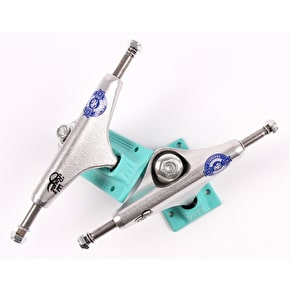 Royal Miami Vice Mini Crown Skateboard Trucks - Teal