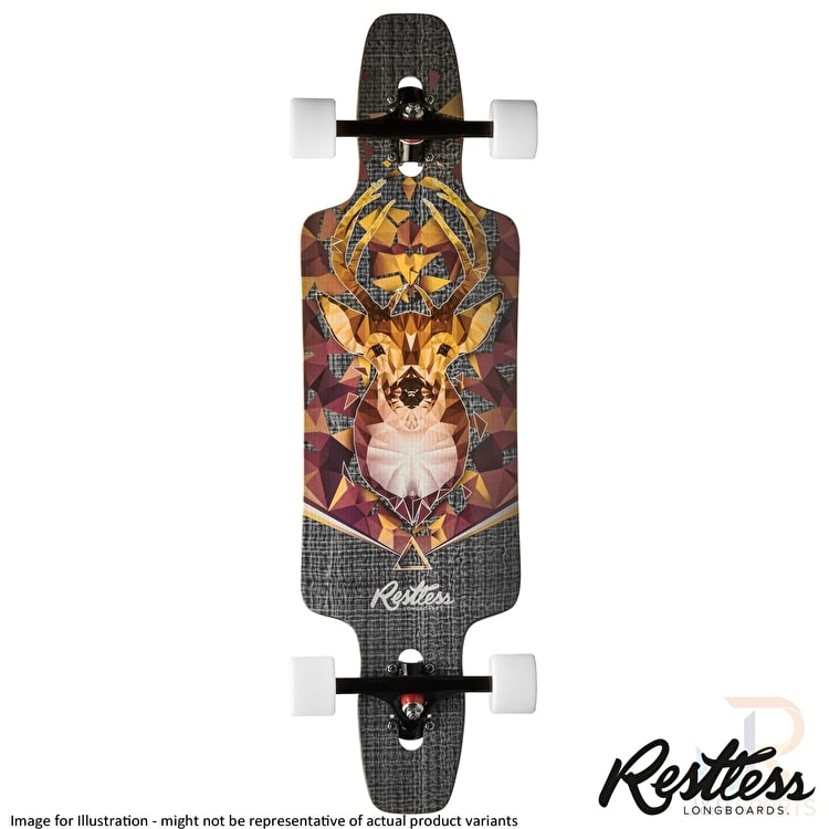"Restless Longboard - Splinter Series Bust 35"" Complete"