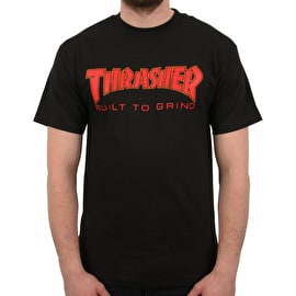 Independent x Thrasher BTG T Shirt - Black
