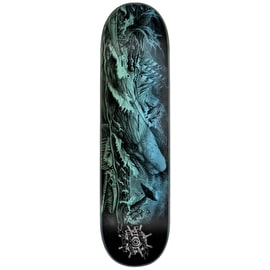 Creature Pro Black Abyss Skateboard Deck - Reyes 8.25