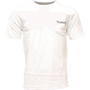 Fourstar Dressen Pocket T-Shirt - White