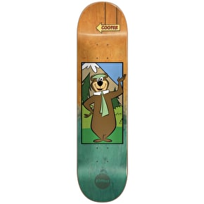 Almost Yogi Bear Fade R7 Skateboard Deck - Cooper 8.375
