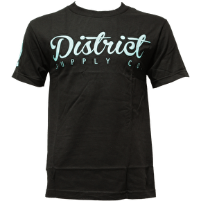 District Supply Co. Destroy T-Shirt - Black