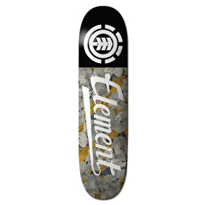 Element Skateboard Deck - Script Featherlight Pop Camo 8.25