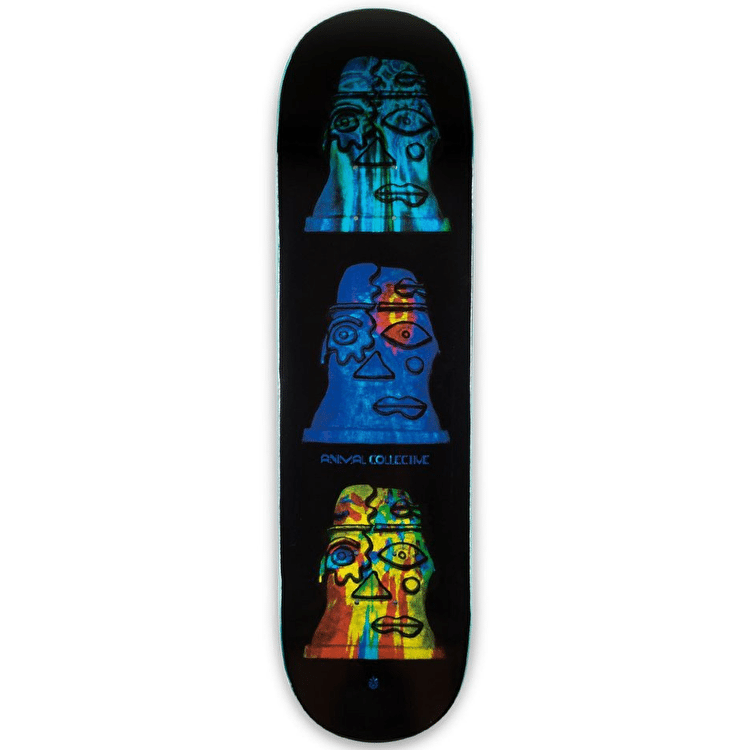 Habitat X Animal Collective Skateboard Deck - Blue - 8.375""