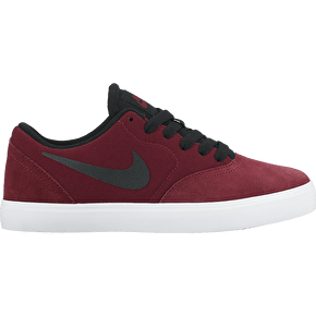 Nike SB Check Kids Skate Shoes - Team Red/Black