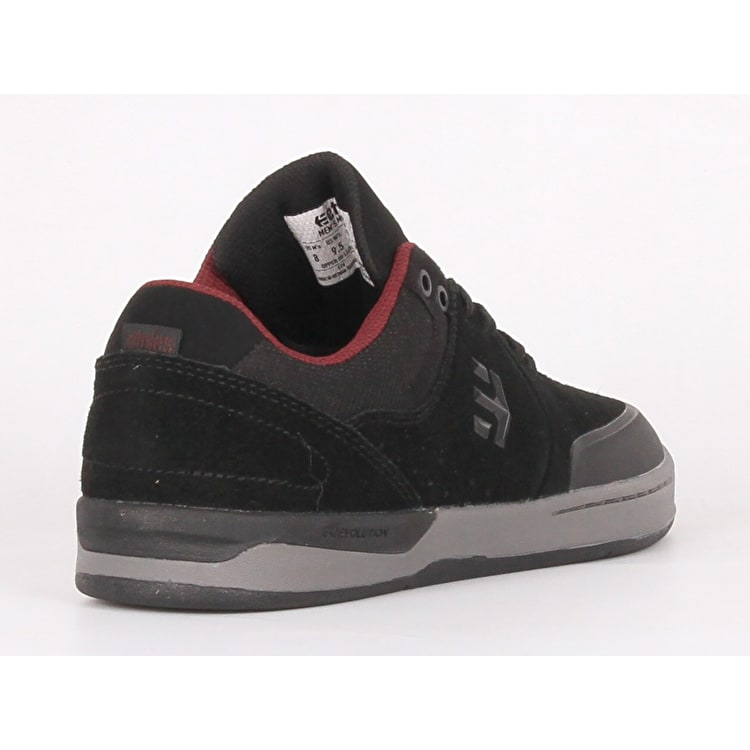 Etnies Marana XT Skate Shoes - Black/Grey/Red