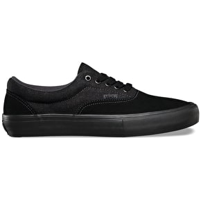 Vans Era Pro Shoes - Black/Black/Asphalt