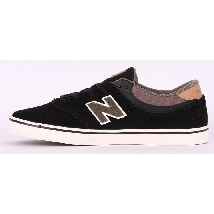 New Balance Quincy 254 Skate Shoes - Black/Olive