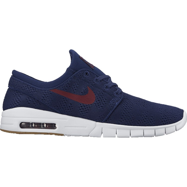 Nike SB Stefan Janoski Max Skate Shoes - Binary Blue/Team Red