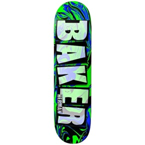 Baker Brand Name Abstract Skateboard Deck - Herman 8.0