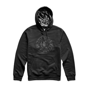 Etnies X Grizzly Corp Pullover Hoodie - Black