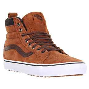 Vans Sk8-Hi MTE Shoes - Glazed Ginger/Plaid