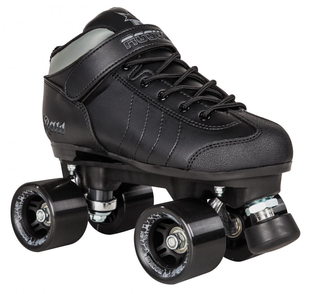 Rookie Raw Roller Derby Quad Roller Skates - Black ...