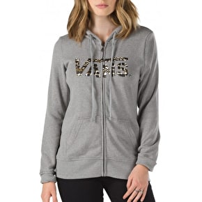 Vans Authentic 2 Womens Zip Hoodie - Grey Heather
