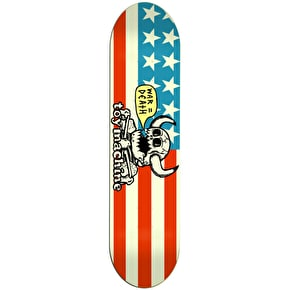 Toy Machine Dead American Monster Skateboard Deck 8.125