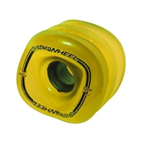 Shark Wheel Sidewinder Longboard Wheels - Yellow 78A(Pack of 4)