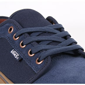Vans Chukka Low Skate Shoes - Rich Navy/Gum