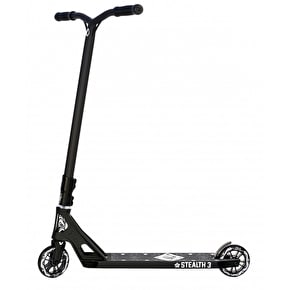 AO Stealth 3 Complete Scooter - Black