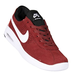 Nike SB Bruin Max Vapor Skate Shoes - Dark Team Red/White