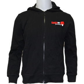 Skatehut Just Send It Zip Kids Hoodie - Black