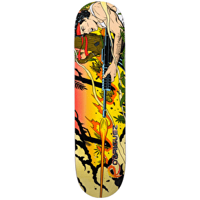 Primitive Contra Skateboard Deck - Paul Rodriguez 8.125