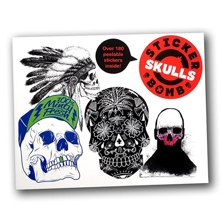 SRK Sticker Book - Stickerbomb Skulls