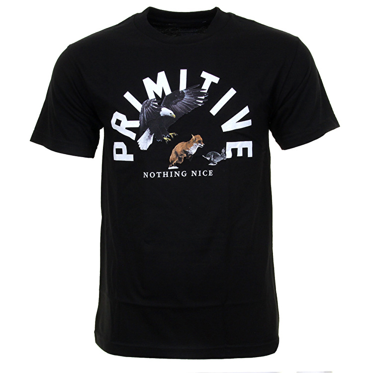 Primitive Food Chain T-Shirt - Black