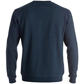 DC Ellis Crew Sweater - Blue Iris
