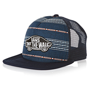 Vans Classic Patch Trucker Cap - Dress Blues/Golden Glow