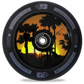 Lucky Scooters Tanner Fox Sig 110mm Scooter Wheel - Black/Black