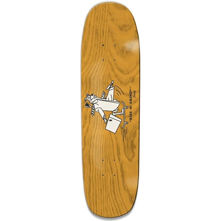 Grizzly Rise N Grind Cruiser Skateboard Deck - Natural 8.375""