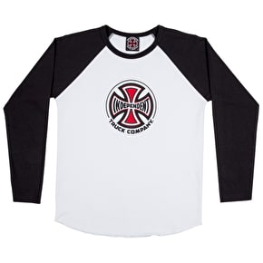 Independent Youth Truck Co. Baseball T-Shirt - Black/White