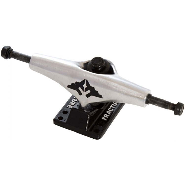 Fracture Wings Skateboard Trucks - Black/Raw (Pair)