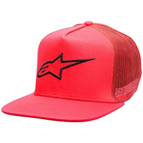 Alpinestars Corp Trucker Cap - Red
