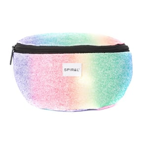 Spiral Harvard Rainbow Crystals Bum Bag