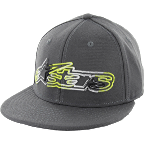 Alpinestars Frenzy Custom Flexfit Cap - Charcoal