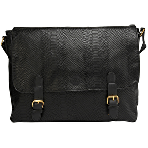 Mi-Pac Messenger Bag - Python Black