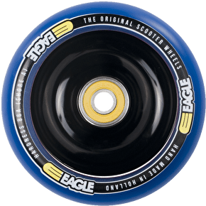 Eagle Black Anodised Full Core Blue PU Wheel - 110mm