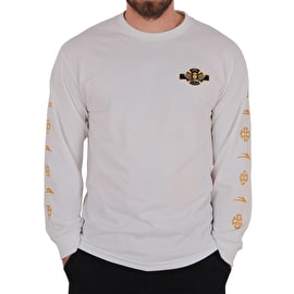Lakai x Independent Long Sleeve T shirt - White
