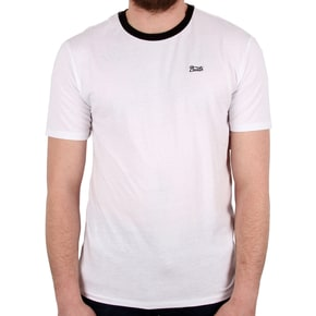 Brixton Potrero III Short Sleeved Premium T-Shirt - White/Black