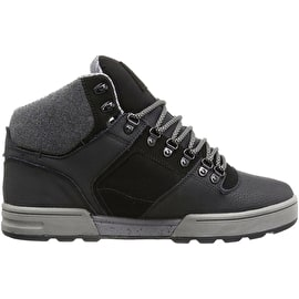 DVS Westridge Skate Shoes - Black Leather Ferguson
