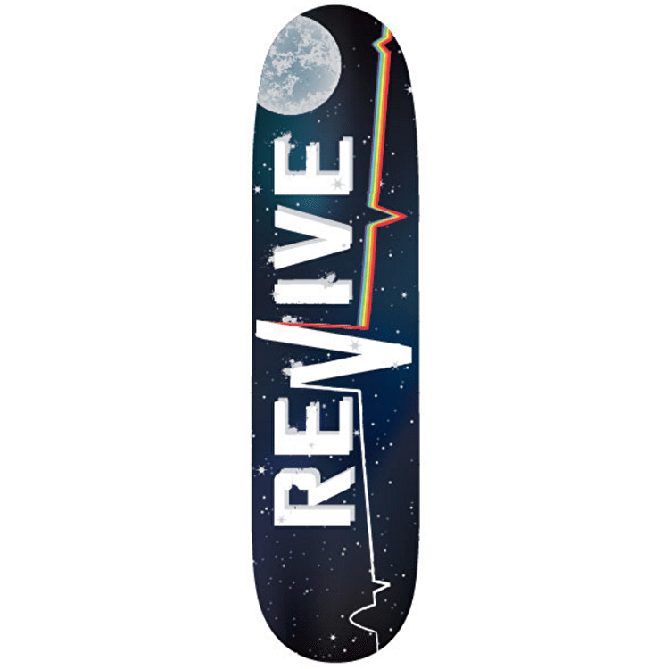 ReVive Skateboard Deck - Lifeline Space
